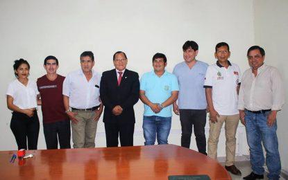 Municipalidad Distrital de Cajaruro y Red de Salud de Utcubamba firman convenio interinstitucional