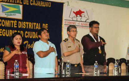 CODISEC REALIZA II AUDIENCIA PÚBLICA PARA EXPONER ACTIVIDADES DESARROLLADAS DEL II TRIMESTRE DEL 2019.