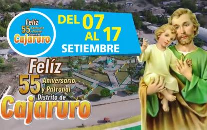 SPOT OFICIAL POR EL 55º ANIVERSARIO DEL DISTRITO DE CAJARURO