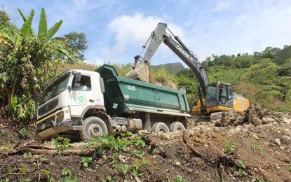 Mejoramiento via carrozable Llunchicate – La Laguna