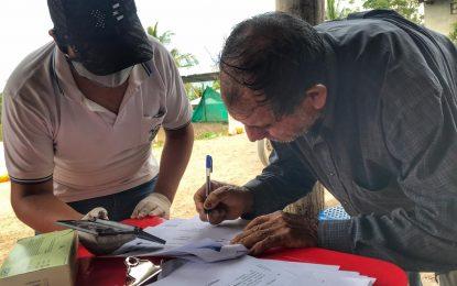MUNICIPALIDAD DE CAJARURO CULMINÓ CON LA DISTRIBUCIÓN DE LA CANASTA BÁSICA FAMILIAR A HOGARES VULNERABLES DEL DISTRITO